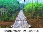 Suspension Bridge Over The...