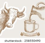 Cow And Natural Whole Milk Is...