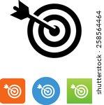 Target  Arrow And Bulls Eye Icon