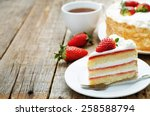 Cake With Cream And...