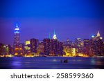 New York City Skyline Under...