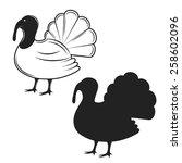 vector illustration of a... | Shutterstock .eps vector #258602096