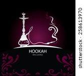 Hookah Bar Menu Cover  Nargila...