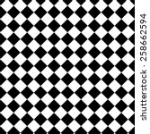 seamless checkered  tablecloth... | Shutterstock .eps vector #258662594