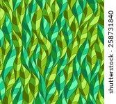green leaves seamless vector... | Shutterstock .eps vector #258731840