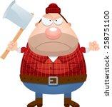 a cartoon illustration of a... | Shutterstock .eps vector #258751100