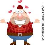 a cartoon illustration of a... | Shutterstock .eps vector #258751934