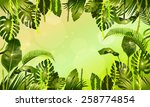 plants of the jungle | Shutterstock .eps vector #258774854