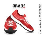 fitness design over white...   Shutterstock .eps vector #258780638