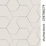 vector seamless pattern. modern ... | Shutterstock .eps vector #258788279