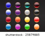 vector illustration of modern ... | Shutterstock .eps vector #25879885