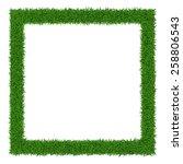 Square Grass Frame  With Copy...