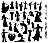 Oriental Dance Silhouettes