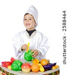 adorable future cook a over...