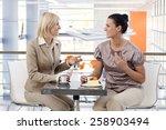 mid adult casual caucasian... | Shutterstock . vector #258903494