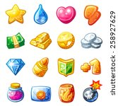 cartoon resource icons for game ...