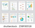set of infographic business... | Shutterstock .eps vector #258930518