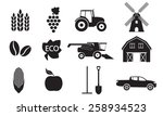 Agriculture And Farming Icon...