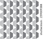 black and gray graphic pattern... | Shutterstock .eps vector #259009388