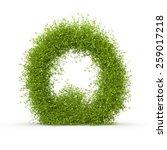 3d Decorative Nature Letter