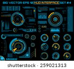 abstract future  concept vector ... | Shutterstock .eps vector #259021313