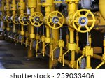 valves manual in the process.... | Shutterstock . vector #259033406