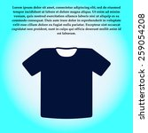 t shirt sign icon. clothes...