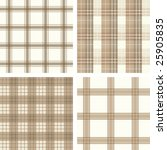 Seamless Checked Pattern Set