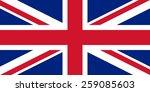 "flag of the united kingdom ""... | Shutterstock .eps vector #259085603"