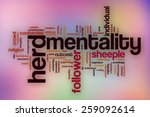 Herd Mentality Word Cloud...