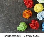 Multicolored Paper Balls
