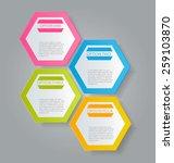 infographics template for... | Shutterstock .eps vector #259103870