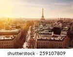 paris | Shutterstock . vector #259107809