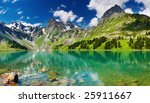 mountain lake | Shutterstock . vector #25911667