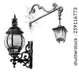old street lamps | Shutterstock . vector #259116773