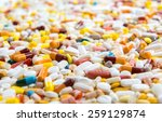 A Lot Of Pills In Defferent...