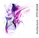 wild freedom   Shutterstock .eps vector #259138268