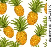 low poly style seamless pattern ... | Shutterstock .eps vector #259139540