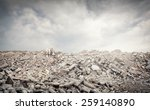 old ruined abandoned buildings | Shutterstock . vector #259140890