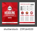 corporate business stationery... | Shutterstock .eps vector #259164320