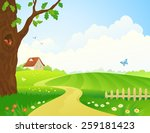vector illustration of a... | Shutterstock .eps vector #259181423