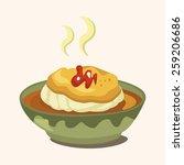 egg board theme elements | Shutterstock .eps vector #259206686