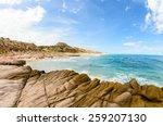 Desertic Beach  Baja Californi...