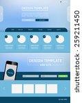 vector design website theme...