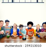 Mutiethnic Group Of People...