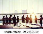 group of business people... | Shutterstock . vector #259213019