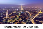 Aerial View Of Paris At...