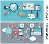 seo optimization  programming... | Shutterstock . vector #259248464