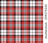 plaid seamless pattern | Shutterstock .eps vector #259275233