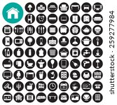 furniture and home decor icon... | Shutterstock .eps vector #259277984